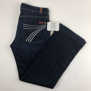 7 for all mankind dojo jeans 27x28.5